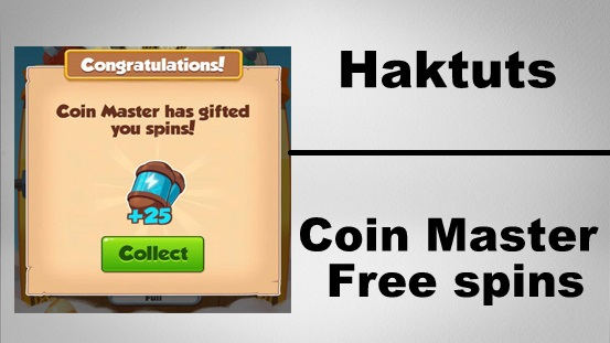 Haktuts free spin and coin master